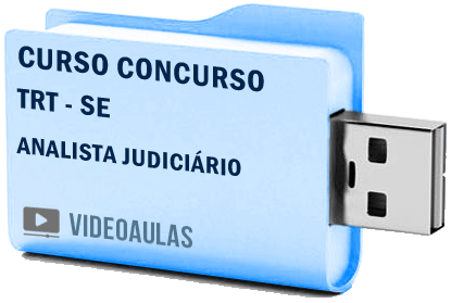 TRT SE Analista Judiciário Curso Concurso Vídeo Aulas