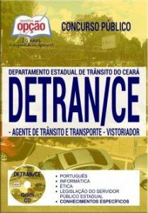 Apostila Concurso DETRAN CE AGENTE TRÂNSITO TRANSPORTE VISTORIADOR