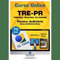 Curso Online TRE PR – Técnico Judiciário – Área Administrativa