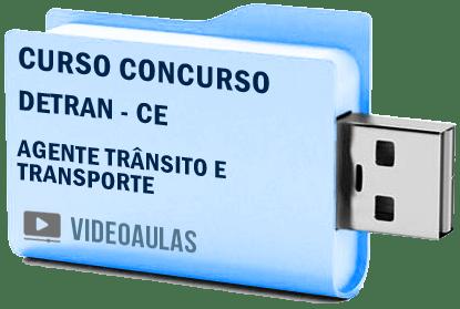 Curso Vídeo Aulas Concurso Detran CE – Agente Trânsito Transporte
