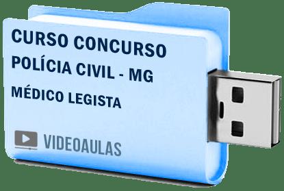 Curso Básico Vídeo Aulas Concurso Polícia Civil MG – Médico Legista