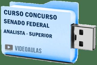 Curso Vídeo Aulas Concurso Senado Federal Analista Nível Superior