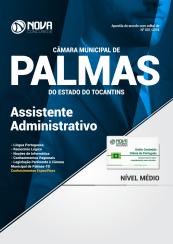Apostila Câmara Municipal de Palmas – TO 2018 – Assistente Administrativo