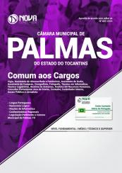 Apostila Câmara Municipal de Palmas – TO 2018 – Comum a Diversos Cargos