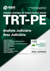 Apostila TRT – PE 2018 – Analista Judiciário – Área Judiciária