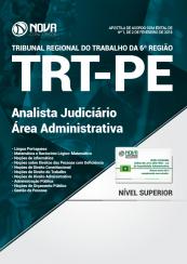 Apostila TRT – PE 2018 – Analista Judiciário – Área Administrativa