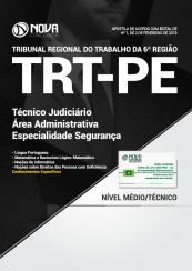 Apostila TRT – PE 2018 – Técnico Judiciário – Área Administrativa – Especialidade Segurança