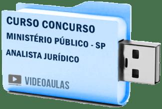 Curso Vídeo Aulas Concurso Ministério Público – SP – Analista Jurídico 2018