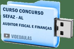 Curso Vídeo Aulas Concurso SEFAZ - AL - Auditor Fiscal e Finanças