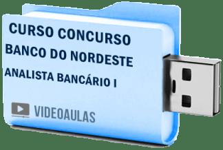 Curso Concurso Banco Nordeste – Analista Bancário I – Vídeo Aulas Pendrive