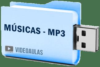 Músicas – 8.600 MP3 Gravadas em Pendrive