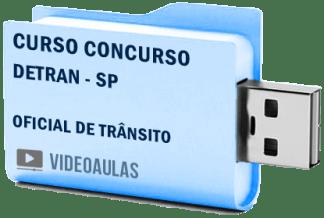 Curso Concurso Detran SP Oficial Trânsito Videoaulas