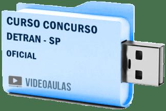 Curso Concurso Detran SP Oficial Videoaulas