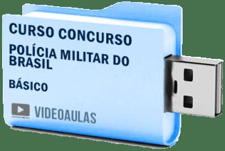 Curso Básico Concurso Polícia Militar Brasil Soldado Oficial Vídeo Aulas