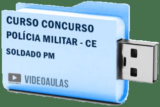 Curso Concurso Polícia Militar CE – Soldado PM Vídeo Aulas
