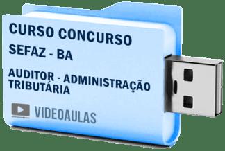 Curso Concurso Sefaz BA Auditor Administração Tributária Vídeo Aulas
