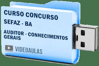 Curso Básico Concurso Sefaz BA Auditor Fiscal Vídeo Aulas
