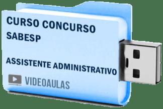 Curso Concurso SABESP – Assistente Administrativo Vídeo Aulas