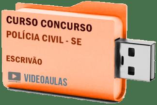 Concurso Polícia Civil – SE Escrivão Policial Curso Videoaulas