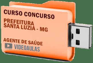 Concurso Prefeitura Santa Luzia – MG – Agente de Saúde Curso Videoaulas