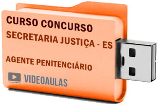 Concurso SEJUS – ES – Agente Penitenciário Curso Videoaulas