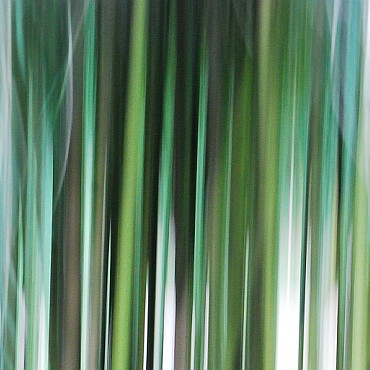 Stripes of green and blue-green in an upward motion effect
