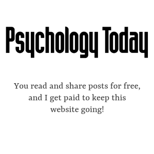 Psychology Today logo with text underneath
