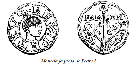 Moneda jaquesa de Pedro I