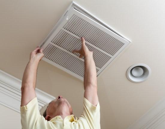 Opening Filter holder -HVAC Maintenance