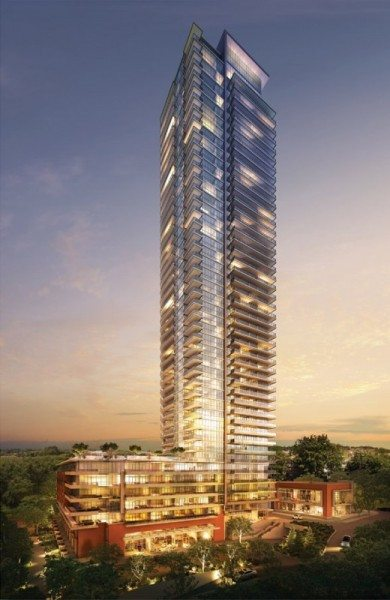 Encore Condos Building View Toronto, Canada