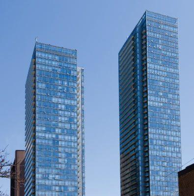 Murano Condos Building View Toronto, Canada