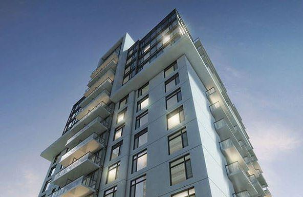 Parfait Condos Building View Toronto, Canada