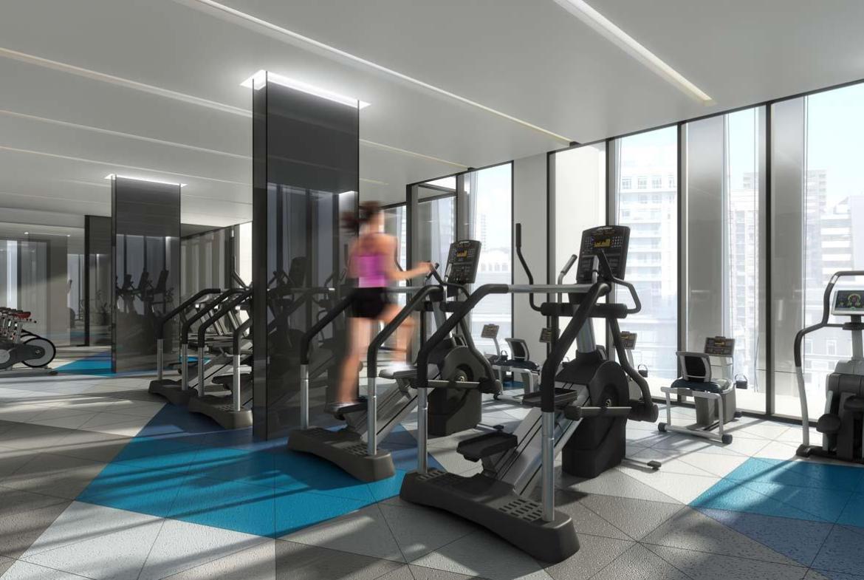 1 Yorkville Condos Gym Toronto, Canada