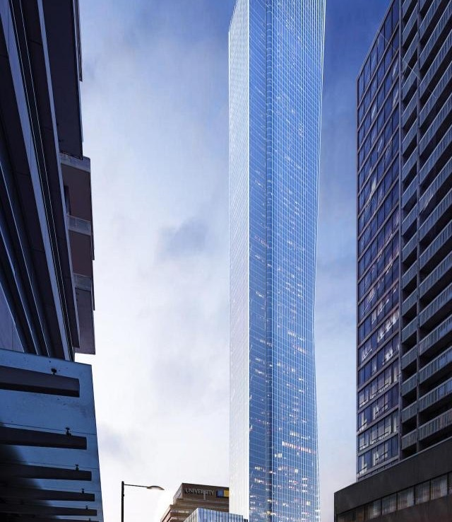 YSL Residences Condos Tower View Toronto, Canada
