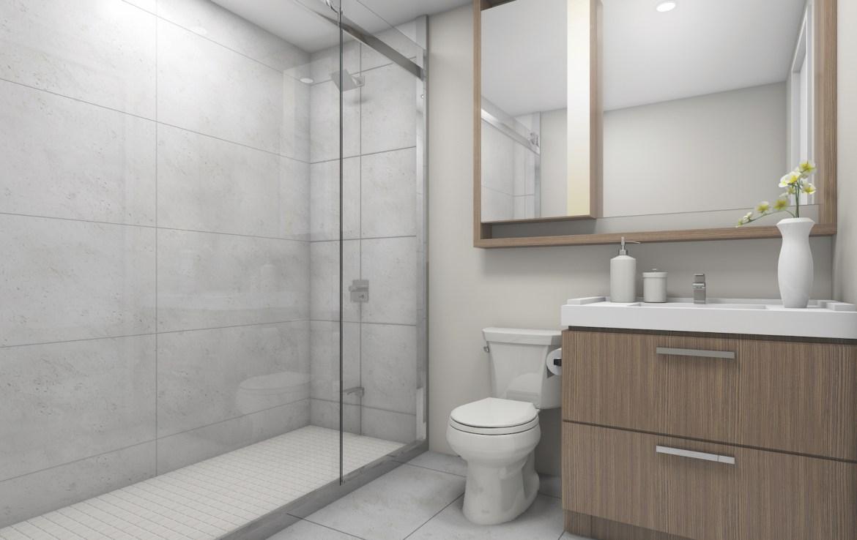 Skywatch Condos Bathroom Toronto, Canada