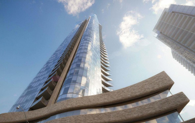 100 Davenport Condos Upward View Toronto, Canada