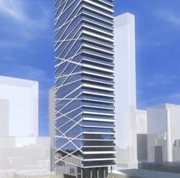Theatre Park Condos Building View Toronto, Canada