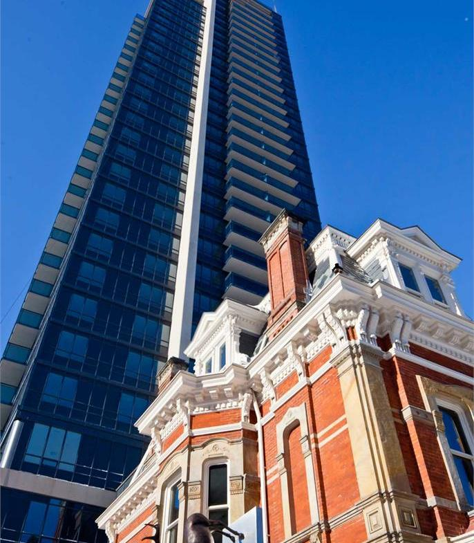 James Cooper Mansion Condos Upward View Toronto, Canada