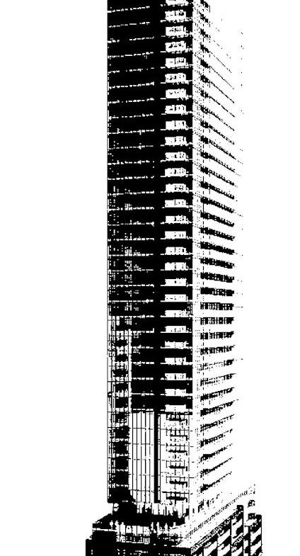 Pace Condos Building View Toronto, Canada