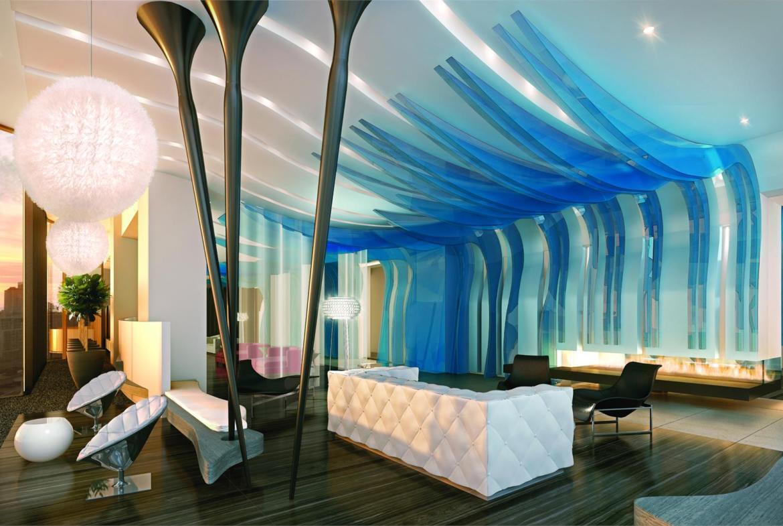 One Bloor Condos Lounge Toronto, Canada