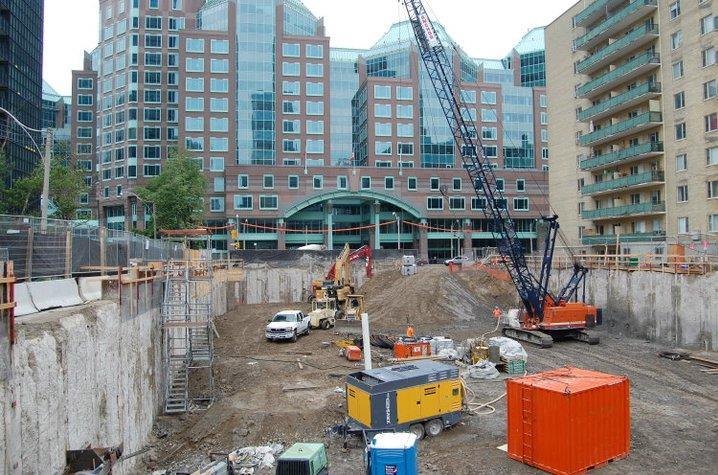 X2 Condos Under Construction Toronto, Canada