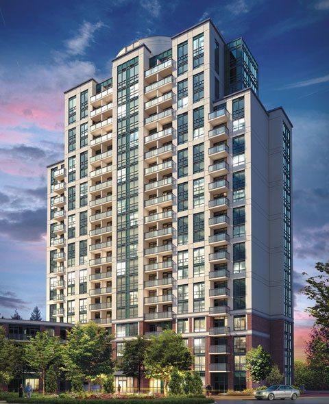 Vivid Condos Building View Toronto, Canada
