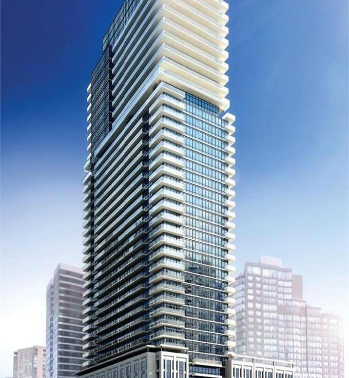 The Britt Condos Building View Toronto, Canada