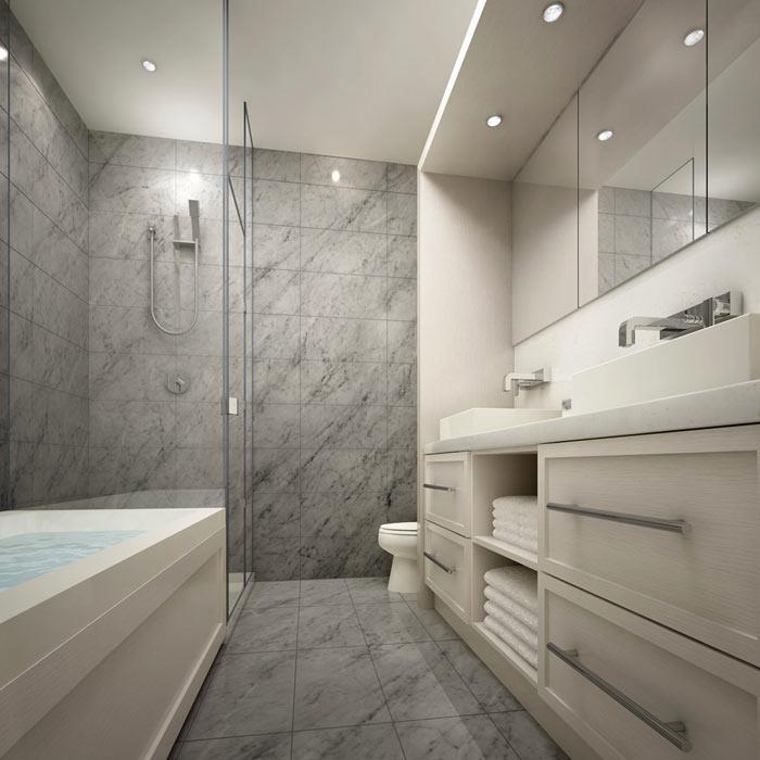 101 Erskine Condos Bathroom Toronto, Canada
