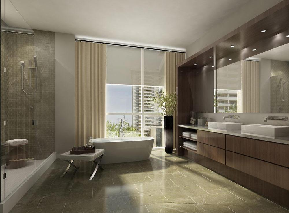 101 Erskine Condos Bathroom View Toronto, Canada