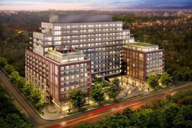 HighPark Residences Condos Front View Toronto, Canada