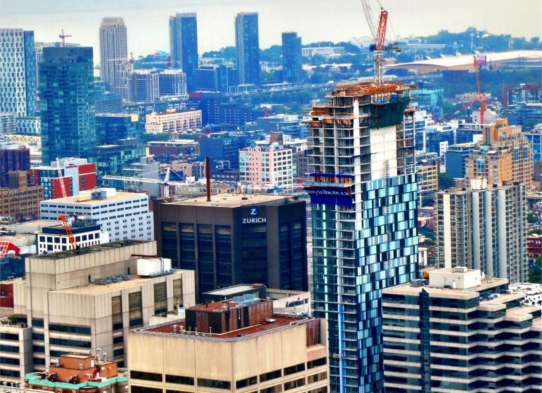 RCMI Condos Aerial View Toronto, Canada