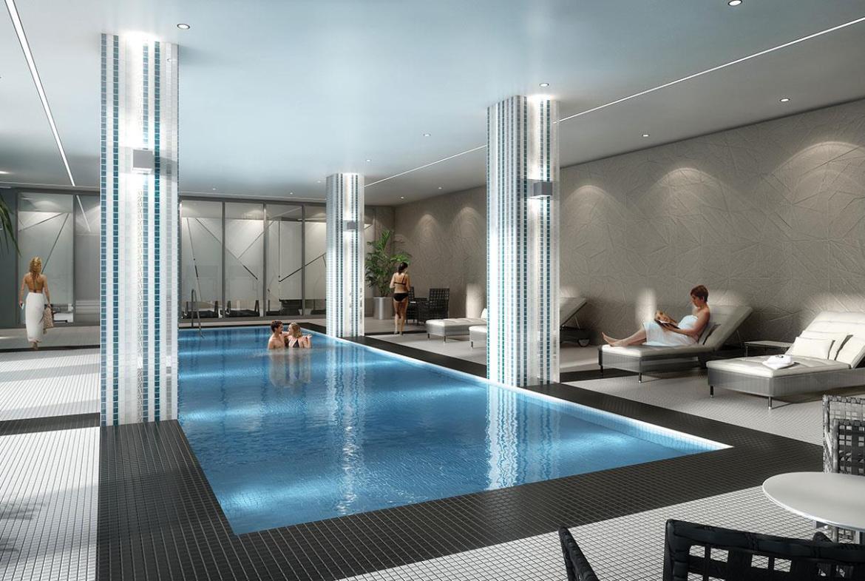 Perspective 2 Condos Swimming Pool Toronto, Canada