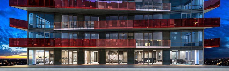 Smart House Condos Front View Toronto, Canada