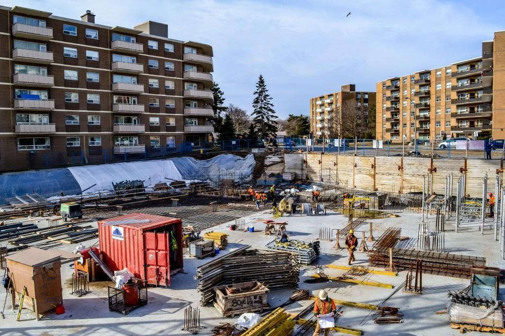 Perspective 2 Condos Site View Toronto, Canada